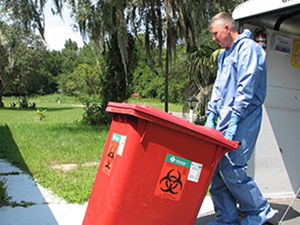 biohazard cleanup services in Tampa, Jacksonville or Orlando, Florida